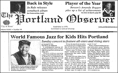 """""""World Famous Jazz for Kids Hits Portland"""""""