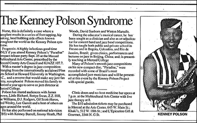 """""""The Kenney Polson Syndrome"""""""